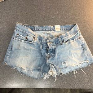 Lucky Jeans Cutoff Shorts